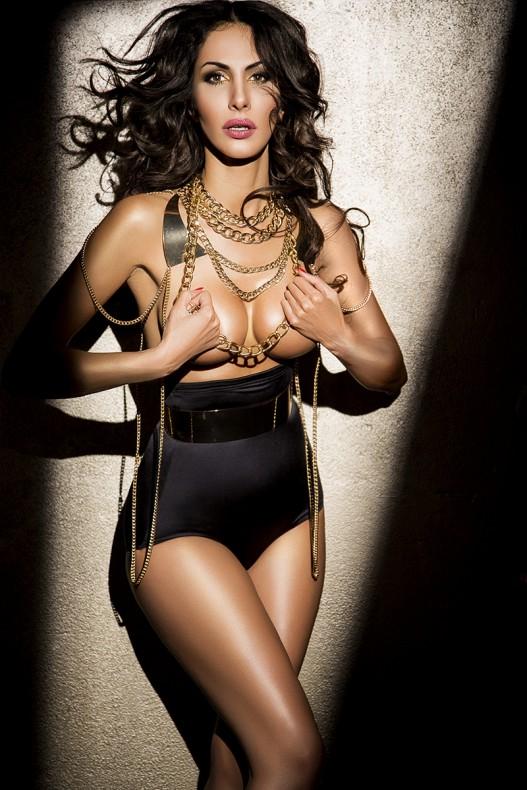 Janina Youssefian nackt